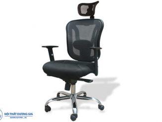 TOP 7 mẫu ghế xoay văn phòng có tựa đầu hiện đại, giá rẻ nhất hiện nay