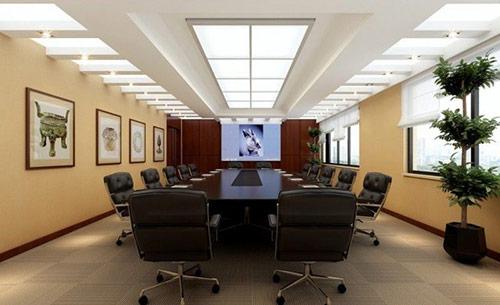 Mẫu phòng họp được thiết kế lịch sự