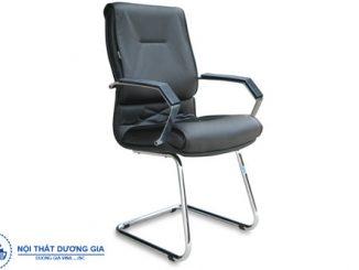Mua ghế phòng họp chân quỳ inox chất lượng, giá rẻ ở đâu?