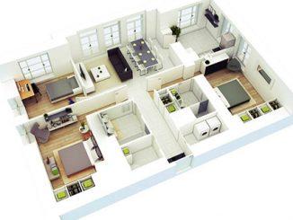 Tư vấn thiết kế nội thất chung cư 3 phòng ngủ đẹp, tiết kiệm chi phí