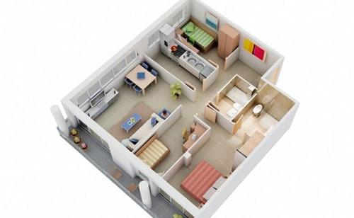 Chọn đơn vị thiết kế nội thất chung cư 3 phòng ngủ uy tín