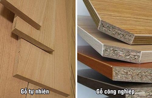 So sánh gỗ tự nhiên và các loại gỗ công nghiệp dùng trong nội thất