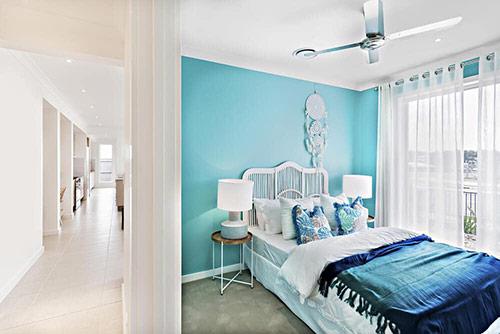 Hướng dẫn trang trí phòng ngủ: Màu sắc trong không gian