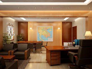 Công ty thi công nội thất phòng Giám đốc uy tín, chuyên nghiệp tại Hà Nội