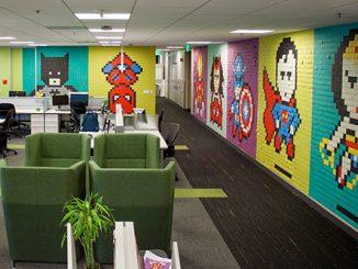 Làm thế nào để thiết kế văn phòng 60m2 trở nên độc đáo, ấn tượng?