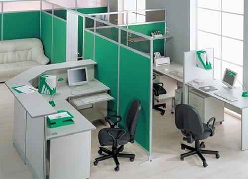 Vách ngăn văn phòng dùng để làm gì?