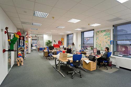 Làm thế nào để thiết kế văn phòng sáng tạo?