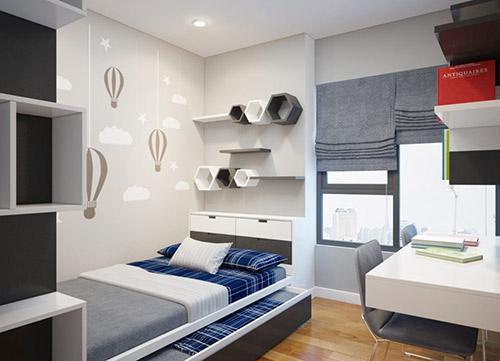 Cách bố trí đồ nội thất phòng ngủ nhỏ chuẩn phong thủy