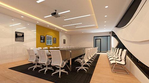 Sử dụng đồ nội thất phòng họp đẹp giúp nâng cao tầm vóc của doanh nghiệp