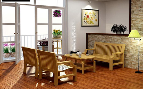 Những cách trang trí nội thất phòng khách nhà cấp 4 đơn giản