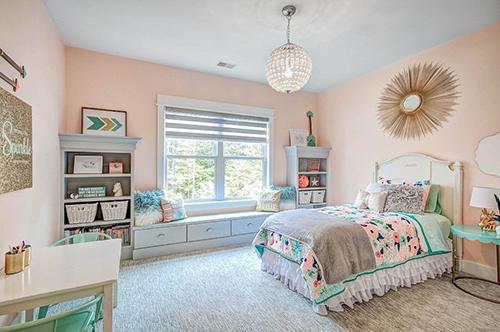 Bật mí cách trang trí nội thất phòng ngủ con gái đơn giản, ấn tượng