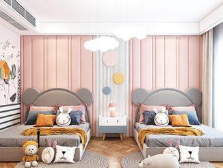 TOP 10 mẫu thiết kế nội thất phòng ngủ dễ thương, ấn tượng nhất