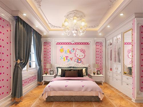Phòng ngủ trang trí độc đáo