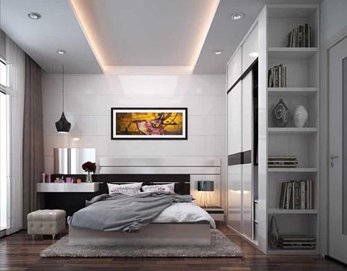 Mẫu phòng ngủ 12m2 hiện đại