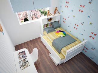 Gợi ý một số mẫu thiết kế nội thất phòng ngủ 12m2 đơn giản, ấn tượng