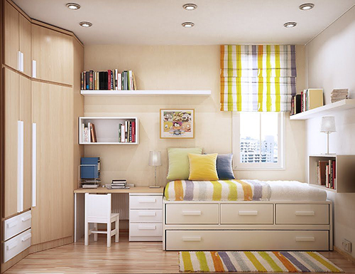 Ý tưởng thiết kế phòng ngủ 12m2
