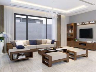 Tại sao đồ nội thất phòng khách bằng gỗ ngày càng được ưa chuộng?