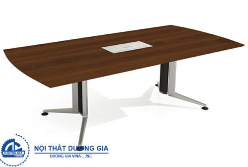 Tìm hiểu về ưu điểm của bàn họp văn phòng chân sắt