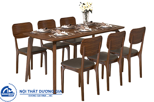 Bàn ghế ăn đẹp BA504A + GA504